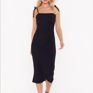 Nasty Gal Dresses - Nasty Gal Black Midi Dress